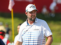 Potomac, MD - June 30, 2018: Marc Leishman (AUS) during Round 3 at the Quicken Loans National Tournament at TPC Potomac in Potomac, MD, June 30, 2018.  (Photo by Elliott Brown/Media Images International)