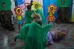 Atividades e fam&iacute;lias escutadas pelo UNICEF durante a semana do bebe em Pernambuco<br /> Apresenta&ccedil;&atilde;o de alunos da APAE de Agrestina, Pernambuco