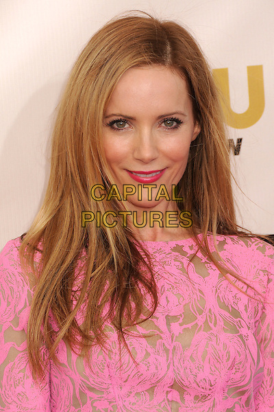 Leslie Mann.18th Annual Critics' Choice Movie Awards - Arrivals held at Barker Hangar, Santa Monica, California, USA, .10th January 2013 .portrait headshot lipstick make-up beauty  pink gold print smiling .CAP/ADM/BP.©Byron Purvis/AdMedia/Capital Pictures.