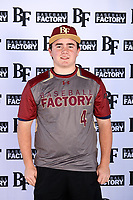Dakota Branger (4) of Eaton High School in Haslet, Texas during the Baseball Factory All-America Pre-Season Tournament, powered by Under Armour, on January 12, 2018 at Sloan Park Complex in Mesa, Arizona.  (Mike Janes/Four Seam Images)