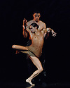 """Scottish Ballet present a double bill of Angelin Preljocaj's """"MC 14/22"""" and Crystal Pite's """"Emergence"""", at the Festival Theatre, as part of the Edinburgh International Festival. The piece shown is: """"Emergence"""", choreographed by Crystal Pite."""