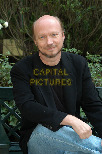 "PAUL EDWARD HAGGIS.Photocall ""Crash Contatto Fisico"" at Hotel De Russie, Rome, Italy..November 3rd, 2005.Ref: CAV.half length .www.capitalpictures.com.sales@capitalpictures.com.© Capital Pictures."
