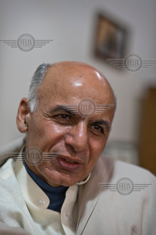 Dr. Ashraf Ghani Ahmadzai, who came third in the polls in the 2009 presidential elections. Ashraf Ghani was finance minister between July 2002 and December 2004, but has since become a vocal critic of the government.