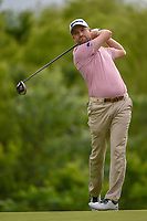Russell Knox (IRL) watches his tee shot on 4 during round 3 of the AT&T Byron Nelson, Trinity Forest Golf Club, Dallas, Texas, USA. 5/11/2019.<br /> Picture: Golffile | Ken Murray<br /> <br /> <br /> All photo usage must carry mandatory copyright credit (© Golffile | Ken Murray)