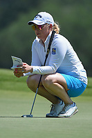 Morgan Pressel (USA) looks over her putt on 4 during round 1 of the 2019 US Women's Open, Charleston Country Club, Charleston, South Carolina,  USA. 5/30/2019.<br /> Picture: Golffile | Ken Murray<br /> <br /> All photo usage must carry mandatory copyright credit (© Golffile | Ken Murray)