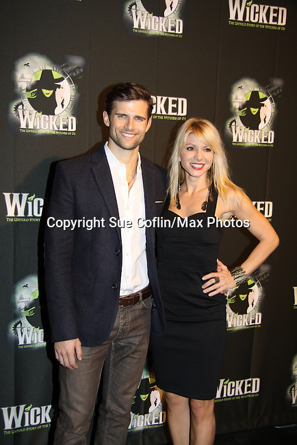 Kyle Dean Massey - The blockbuster musical, Wicked, celebrates its 10th Anniversary on Broadway, a milestone achieved by only ten other Broadway productions in history on October 30, 2013 at the Gershwin Theatre, New York City followed by the red carpet at the Edison Ballroom with current, alumni and creative team.  (Photo by Sue Coflin/Max Photos)