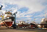Port Townsend, Boyer Towing, tugboat Norma H, Port of Port Townsend, shipyard,  Jefferson County, Olympic Peninsula, Washington State, Pacific Northwest, USA,