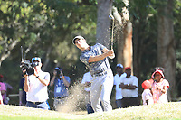 Guido Migliozzi (ITA) in action during the final round of the Magical Kenya Open presented by ABSA played at Karen Country Club, Nairobi, Kenya. 17/03/2019<br /> Picture: Golffile | Phil Inglis<br /> <br /> <br /> All photo usage must carry mandatory copyright credit (&copy; Golffile | Phil Inglis)