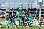 11.01.2019, Bidvest Stadion, Braampark, Johannesburg, RSA, FSP, SV Werder Bremen (GER) vs Bidvest Wits FC (ZA)<br /> <br /> im Bild / picture shows <br /> Claudio Pizarro (Werder Bremen #04) mit Kopfball, Gift Motupa (Bidvest Wits FC #24), Milos Veljkovic (Werder Bremen #13), Warren Granwald Scott (Bidvest Wits FC #12), <br /> <br /> Foto © nordphoto / Ewert