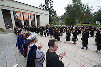 Occidental College Convocation ceremony on August 31, 2011 in Thorne Hall. (Photo by Marc Campos, Occidental College Photographer)