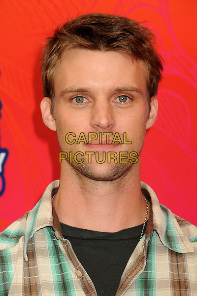 JESSE SPENCER .FOX 2010 Summer TCA All-Star Party held at Pacific Park on the Santa Monica Pier, Santa Monica, California, USA..August 2nd, 2010.headshot portrait stubble facial hair green brown check black.CAP/ADM/BP.©Byron Purvis/AdMedia/Capital Pictures.