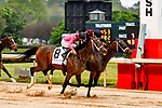 HOT SPRINGS, AR - APRIL 13:  Fantasy Stakes at Oaklawn Park on April 13, 2018 in Hot Springs, Arkansas. #8 Wonder Gadot with jockeyDavid Cabrera (Photo by Ted McClenning/Eclipse Sportswire/Getty Images)