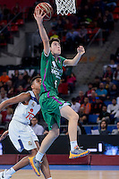 Unicaja's Marcos Balmori during Finals match of 2017 Mini King's Cup at Fernando Buesa Arena in Vitoria, Spain. February 19, 2017. (ALTERPHOTOS/BorjaB.Hojas) /NortEPhoto.com