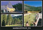 Markleeville 4x6 postcard