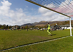 Keswick 1 Kendal 1, 15/04/2017. Fitz Park, Westmoreland League. Keswick build from the back. Photo by Paul Thompson.