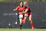 02 October 2011: Virginia Tech's Kelly Conheeney. The Duke University Blue Devils defeated the Virginia Tech Hokies 1-0 at Koskinen Stadium in Durham, North Carolina in an NCAA Division I Women's Soccer game.