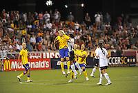 Lisa Dahlkvist...USWNT tied Sweden 1-1 at Morrison Stadium, Omaha Nebraska.