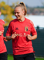 20200911 - TUBIZE , Belgium : Sarah Wijnants pictured during a training session of the Belgian Women's National Team, Red Flames , on the 11th of September 2020 in Tubize. PHOTO SEVIL OKTEM | SPORTPIX.BE