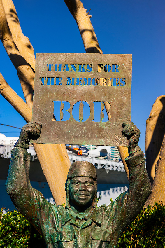 National Salute to Bob Hope and the Military, Port of San Diego, San Diego, California USA.