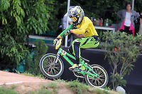 MEDELLIN- COLOMBIA -29-05-2016: Buchanan Caroline (AUS) durante su participación en la categoría elite mujeres en el marco del Campeonato Mundial de BMX 2016 que se realiza entre el 25 y el 29 de mayo de 2016 en la ciudad de Medellín. / Buchanan Caroline (AUS) during her performance in the women elite's categories as part of the 2016 BMX World Championships to be held between 25 and 29 May 2016 in the city of Medellin. Photo: VizzorImage / Cristian Alvarez / CONT