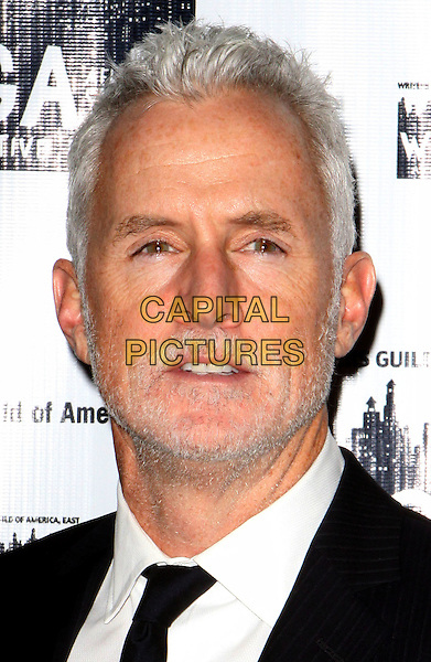 JOHN SLATTERY.61st Annual Writers Guild Awards held at The Hudson Theatre at Millennium Broadway Hotel, New York, NY, USA..February 7th, 2009.headshot portrait stubble facial hair .CAP/ADM/PZ.©Paul Zimmerman/AdMedia/Capital Pictures.