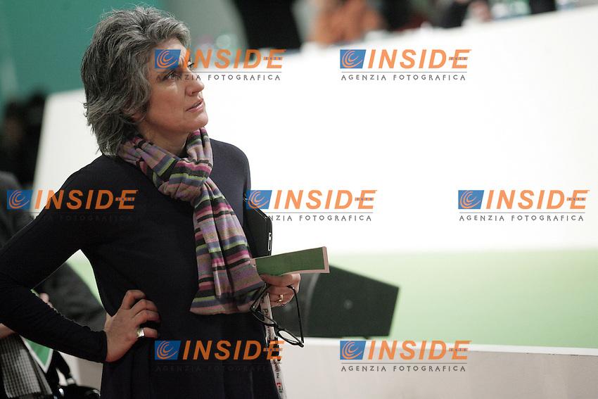 Paola Concia ..PD- Assemblea Nazionale del Partito Democratico. Secondo Giorno...Roma, 5 Febraio 2011..Serena Cremaschi Insidefoto..........
