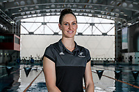 Corina Doyle. Swimming New Zealand Gold Coast Commonweath Games Team Announcement, Owen G Glenn National Aquatic Centre, Auckland, New Zealand,Friday 22 December 2017. Photo: Simon Watts/www.bwmedia.co.nz