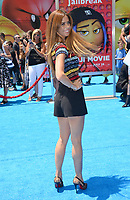 Lydia McLaughlin at the world premiere for &quot;The Emoji Movie&quot; at the Regency Village Theatre, Westwood. Los Angeles, USA 23 July  2017<br /> Picture: Paul Smith/Featureflash/SilverHub 0208 004 5359 sales@silverhubmedia.com