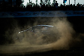 5th October 2017, Costa Daurada, Salou, Spain; FIA World Rally Championship, RallyRACC Catalunya, Spanish Rally; Sebastien OGIER - Julien INGRASSIA of M-Sport WRT sliding in the shakedown