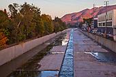 Los Angeles River, Studio City, Los Angeles, California, USA