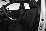 Front seat view of 2017 Audi Q7 Premium  5 Door SUV front seat car photos