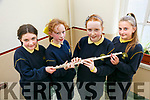 5th class members of the school choir, who sang and played at the first communion on Saturday Pictured Eleanor Murphy, Olivia Dylan, Eve Hennessy and Roksana Szczygielek