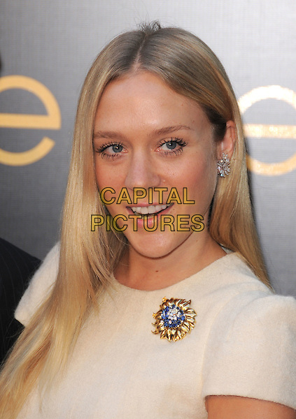 CHLOE SEVIGNY.The 3rd Annual Leveday Hosted by Cartier held at a private estate in Bel Air, California, USA..June 18th, 2008.headshot portrait gold brooch blue diamond earring .CAP/DVS.©Debbie VanStory/Capital Pictures.