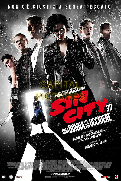 POSTER ART<br /> in Sin City: A Dame to Kill For (2013) <br /> *Filmstill - Editorial Use Only*<br /> CAP/NFS<br /> Image supplied by Capital Pictures