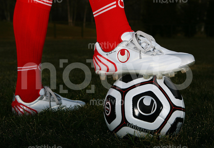 Fussball  Uhlsport Foto-Shooting