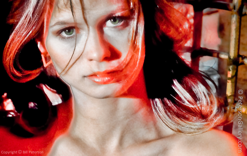 """Inspired I suspect by Leeloo in """"The Fifth Element"""""""