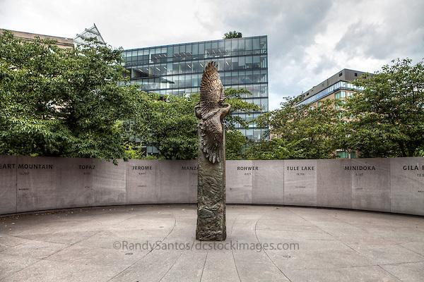 Memorial to Japanese American Patriotism in World War II  Washington DC