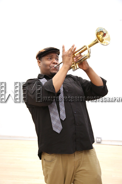 """Juson Williams During the Open Rehearsal for the Miami New Drama's World Premiere Musical  """"A Wonderful World"""" at the Ripley-Grier Studios on January 26, 2020 in New York City."""