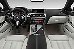 Stock photo of straight dashboard view of 2019 BMW 6-Series-Gran-Coupe 640i-xDrive-M-Sport-Edition-AWD 4 Door Sedan Dashboard