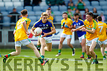 Killian Spillane Kerry in action against Cathal McConnell Meath in the All Ireland Junior Football Final at O'Moore Park, Portlaoise on Saturday.