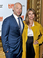 10 September  2018 - Toronto, Ontario, Canada. Corey Stoll, Nadia Bowers. &quot;First Man&quot; Premiere - 2018 Toronto International Film Festival at the Elgin Theatre. <br /> CAP/ADM/BPC<br /> &copy;BPC/ADM/Capital Pictures
