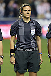 24 October 2014: Referee Sheena Dickson (CAN). The United States Women's National Team played the Mexico Women's National Team at PPL Park in Chester, Pennsylvania in a 2014 CONCACAF Women's Championship semifinal game, which serves as a qualifying tournament for the 2015 FIFA Women's World Cup in Canada. The United States won the game 3-0. With the victory the U.S. advanced to the championship game and qualified for next year's Women's World Cup.