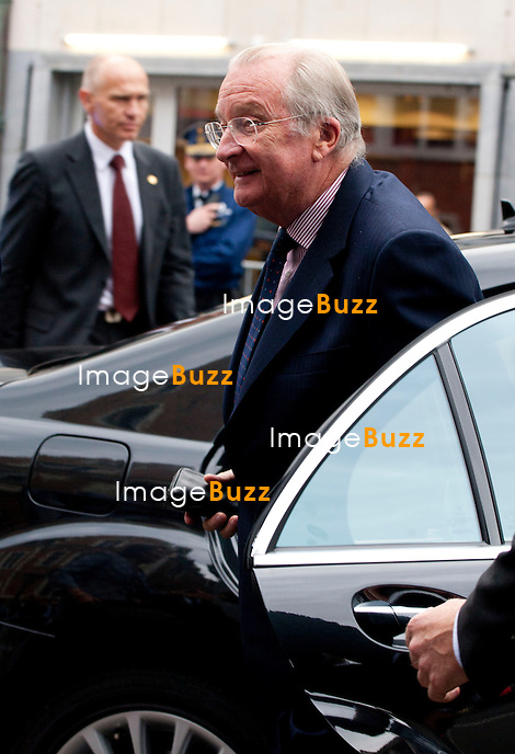 Archives - King Albert II of Belgium announces abdication.<br /> Belgium, Brussels, July 3, 2013.