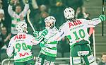 Stockholm 2015-03-14 Bandy SM-final herrar Sandvikens AIK - V&auml;ster&aring;s SK :  <br /> V&auml;ster&aring;s Mikael Olsson jublar efter sitt 2-0 m&aring;l under matchen mellan Sandvikens AIK och V&auml;ster&aring;s SK <br /> (Foto: Kenta J&ouml;nsson) Nyckelord:  SM SM-final final Bandyfinal Bandyfinalen herr herrar VSK V&auml;ster&aring;s SAIK Sandviken jubel gl&auml;dje lycka glad happy