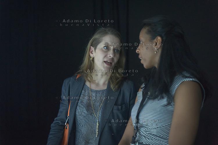 Paola Antonelli  Curator department of Architecture and Design at The Museum of Modern Art (MoMA), New York City during the Lexus Design Amazing 2014, on April 08, 2014. Photo: Adamo Di Loreto/BuenaVista*photo