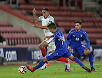 England's Isaac Hadyn tussles with Italy's Alberto Grassi during the Under 21 International Friendly match at the St Mary's Stadium, Southampton. Picture date November 10th, 2016 Pic David Klein/Sportimage