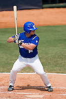 23 August 2007: Designated Hitter #14 David Gauthier at bat during the France 8-4 victory over Czech Republic in the Good Luck Beijing International baseball tournament (olympic test event) at the Wukesong Baseball Field in Beijing, China.