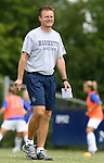 Marquette head coach Markus Roeders on Sunday September 17th, 2006 at Koskinen Stadium on the campus of the Duke University in Durham, North Carolina. The Duke Blue Devils and Marquette Golden Eagles tied 1-1 after overtime in an NCAA Division I Women's Soccer game.