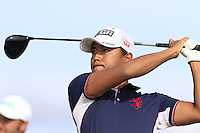Satoshi Kodaira (JPN) tees off the 15th tee during Thursday's Round 1 of the 145th Open Championship held at Royal Troon Golf Club, Troon, Ayreshire, Scotland. 14th July 2016.<br /> Picture: Eoin Clarke | Golffile<br /> <br /> <br /> All photos usage must carry mandatory copyright credit (&copy; Golffile | Eoin Clarke)