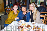Mary Tangney, Mary Coffey and Ailish Coffey enjoying the Coffee morning in the aid of the Irish Cancer Society in the Old Creamery restaurant Listry on Friday